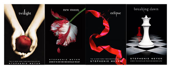 Image result for the twilight saga books